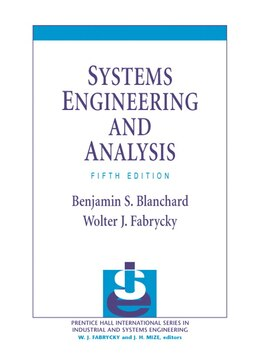 Book Systems Engineering and Analysis by Benjamin S. Blanchard