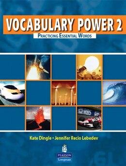 Book VOCABULARY POWER 2: STBK by PEARSON LONGMAN