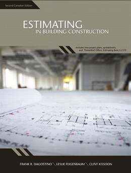 Book Estimating in Building Construction, Second Canadian Edition by Frank R. Dagostino