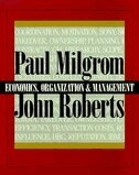 Book Economics, Organization and Management by Paul Milgrom