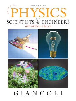Book Physics For Scientists & Engineers With Modern Physics, Vol. 3 (chs 36-44) by Douglas C. Giancoli