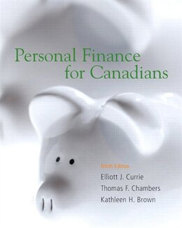 Book Personal Finance For Canadians by Elliot J. Currie