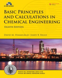 Book Basic Principles and Calculations in Chemical Engineering by David M. Himmelblau
