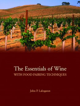 Book The Essentials of Wine With Food Pairing Techniques by John Peter Laloganes