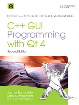 Book C++ GUI Programming with Qt4 by Jasmin Blanchette