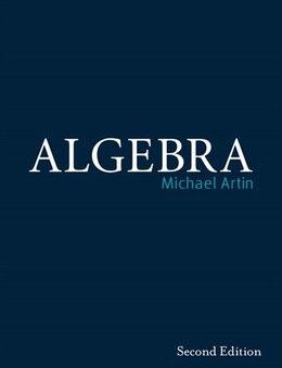 Book Algebra by Michael Artin