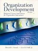 Book Organization Development: Behavioral  Science Interventions For Organization Improvement by Wendell L. French