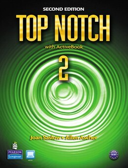 Book TOP NOTCH 2                2/E: STBK W / CDROM by PEARSON LONGMAN