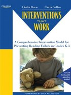 Interventions that Work: A Comprehensive Intervention Model for Preventing Reading Failure in…