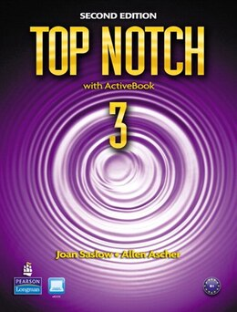 Book TOP NOTCH 3                2/E: STBK W/CD ROM by PEARSON LONGMAN
