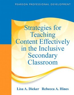 Book Strategies For Teaching Content Effectively In The Inclusive Secondary Classroom by Lisa A. Dieker