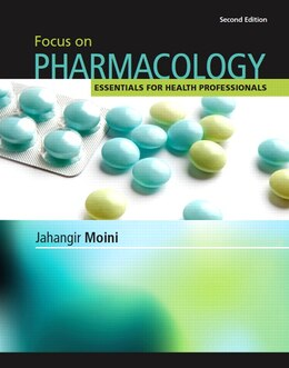 Book Focus On Pharmacology by Jahangir Moini