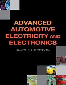 Book Advanced Automotive Electricity And Electronics by James D. Halderman