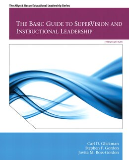 Book The Basic Guide to SuperVision and Instructional Leadership by Carl D. Glickman