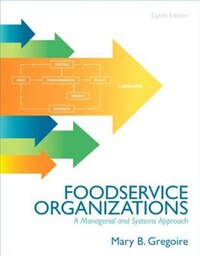 Food Service Organizations: A Managerial And Systems Approach