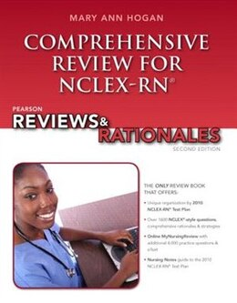 Book Pearson Reviews & Rationales: Comprehensive Review for NCLEX-RN by Mary Ann Hogan