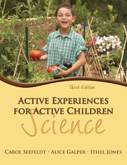 Book Active Experiences For Active Children: Science by Carol Seefeldt