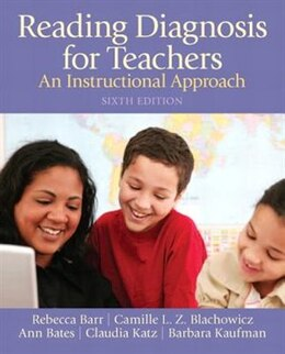 Book Reading Diagnosis for Teachers: An Instructional Approach by Claudia Katz