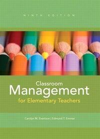 Classroom Management for Elementary Teachers