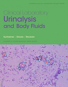 Book Clinical Laboratory Urinalysis And Body Fluids by Robert Sunheimer