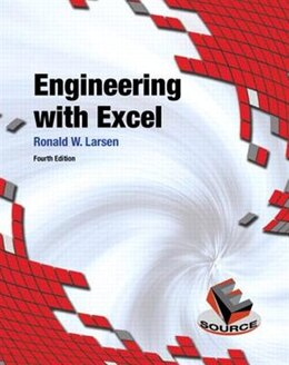 Book Engineering with Excel by Ronald W. Larsen