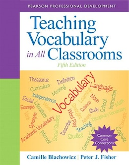 Book Teaching Vocabulary In All Classrooms by Camille Blachowicz