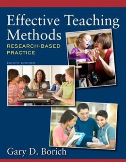 Book Effective Teaching Methods: Research-based Practice by Gary D. Borich