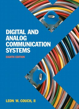 Book Digital & Analog Communication Systems by Leon W. Couch