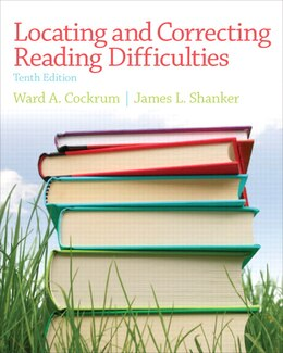Book Locating And Correcting Reading Difficulties by Ward Cockrum