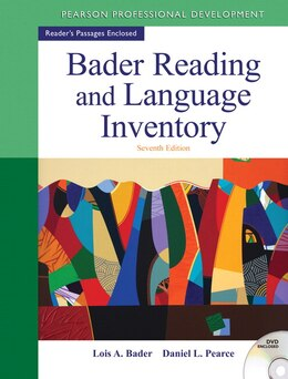 Book Bader Reading & Language Inventory by Lois A. Bader