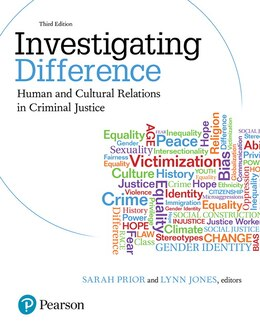 Book Investigating Difference: Human And Cultural Relations In Criminal Justice by Cj Collective