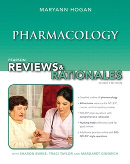 Book Pearson Reviews & Rationales: Pharmacology With Nursing Reviews & Rationales by Mary Ann Hogan
