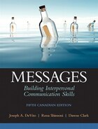 Messages: Building Interpersonal Communication Skills, Fifth Canadian Edition