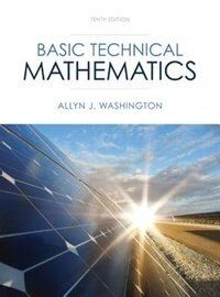 Book Basic Technical Mathematics by Allyn J. Washington