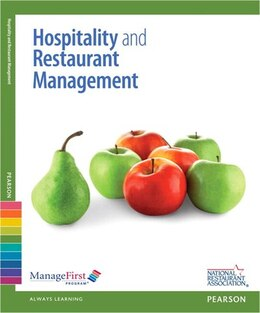 Book Hospitality & Restaurant Management With Answer Sheet And Exam Prep -- Access Card Package by Association Solutions National Restaurant Association