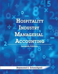 Hospitality Industry Managerial Accounting With Answer Sheet (ahlei)