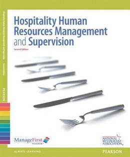 Book Human Resources Management & Supervision With Answer Sheet And Exam Prep -- Access Card Package by Association Solutions National Restaurant Association