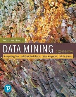 Book Introduction To Data Mining by Pang-Ning Tan