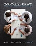 Managing The Law: The Legal Aspects Of Doing Business Plus Mybuslawlab With Pearson Etext -- Access…