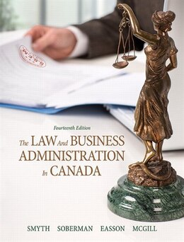 Book The Law And Business Administration In Canada by J.E. Smyth