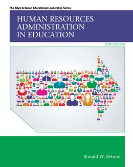 Book Human Resources Administration In Education by Ronald W. Rebore