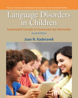 Book Language Disorders In Children: Fundamental Concepts Of Assessment And Intervention by Joan N. Kaderavek
