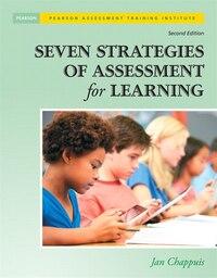 Seven Strategies Of Assessment For Learning