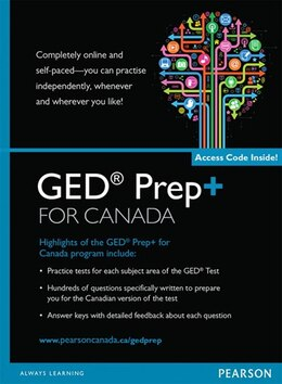 Book Ged Prep+ For Canada Retail Version by Jim Barlow