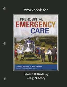 Book Workbook For Prehospital Emergency Care by Edward B. Kuvlesky