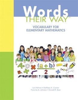 Book Words Their Way: Vocabulary For Elementary Mathematics by Lori Helman