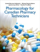 Pharmacology For Canadian Pharmacy Technicians