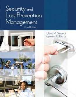 Book Security And Loss Prevention Management With Answer Sheet (ahlei) by Raymond C. Ellis