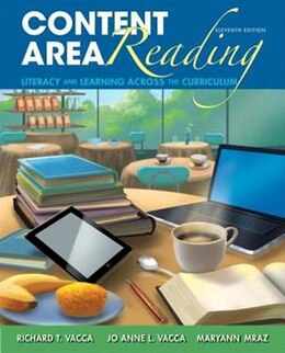 Book Content Area Reading, Video-enhanced Pearson Etext With Loose-leaf Version -- Access Card Package by Richard T. Vacca