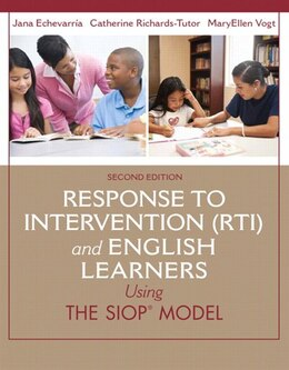 Book Response To Intervention (rti) And English Learners: Using The Siop Model by Jana J. Echevarria